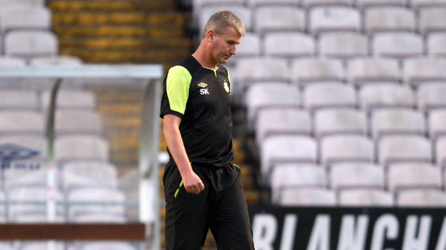 Stephen Kenny is under huge pressure following last week's 4-0 defeat to rivals Bohemians