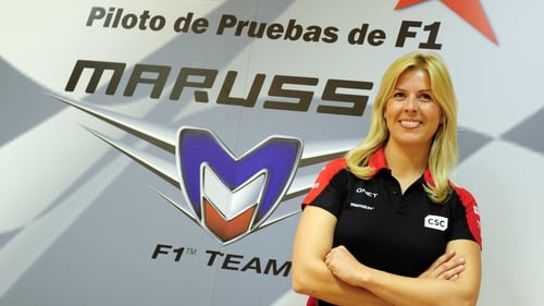Maria De Villota continues to recover from her crash at Duxford Airfield