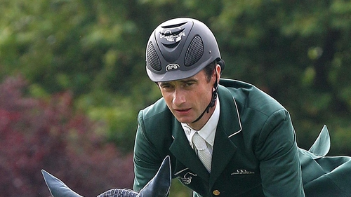 Denis Lynch has been replaced in the Irish show jumping team by Cian O'Connor