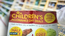 Centra orders withdrawal of children's allowance deals leaflet