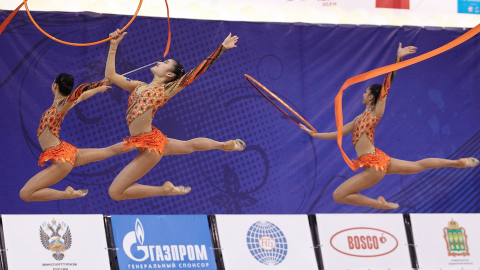 Japan rhythmic gymnastics team are applying the final touches ahead of the London games