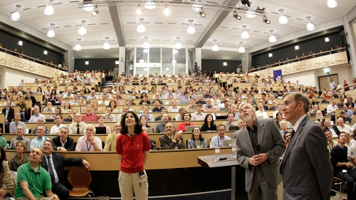 The results were announced at CERN headquarters near Geneva this morning