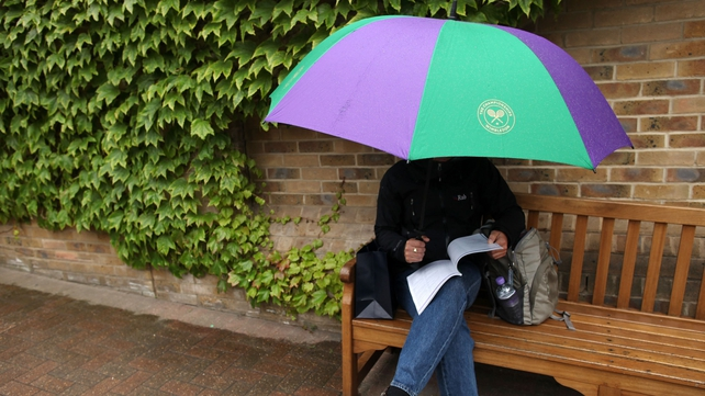 Olympic fans and organisers will hope that London's weather improves following a rain-interrupted Wimbledon
