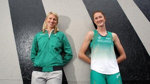 As were sisters Catriona and Joanne Cuddihy, who form one third of the women's 4x400m relay team