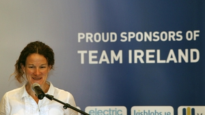 Team Ireland's chef de mission Sonia O'Sullivan was also in attendance