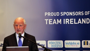 Olympic Council of Ireland president Pat Hickey hosted the media launch of Team Ireland 2012