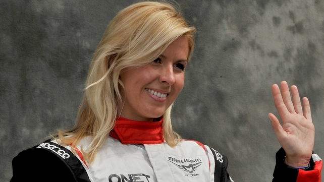 Maria De Villota suffered serious injuries in the accident