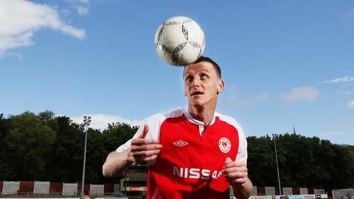 Anto Flood joined St Patrick's Athletic earlier this month