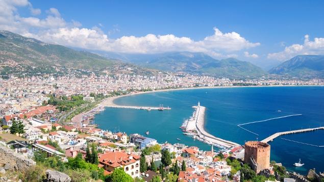 Alanya bay, Turkey