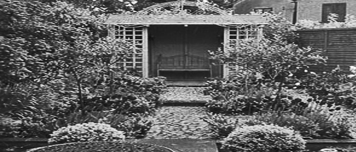 In The Garden of The Asylum