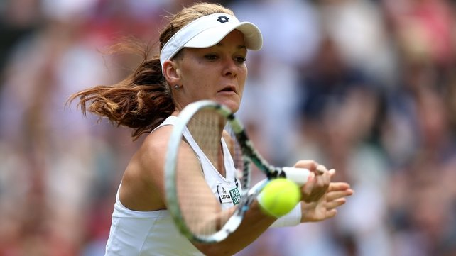 Agnieszka Radwanska's consistent, patient approach paid dividends against an often-erratic Angelique Kerber