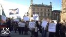 H-Block protest