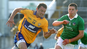 Two late points from David Tubridy (l) saw Clare overcome Limerick in the Munster semi-final