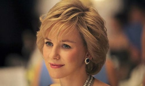 Naomi Watts puts in a carefully considered performance as Diana, but the woeful script lets her down