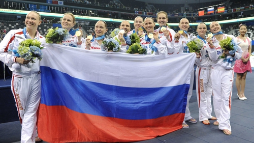 Russia have won every gold medal at the Olympics for the last 12 years
