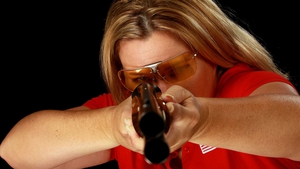 Kim Rhode is hoping to medal for the fifth consecutive Olympic Games this summer