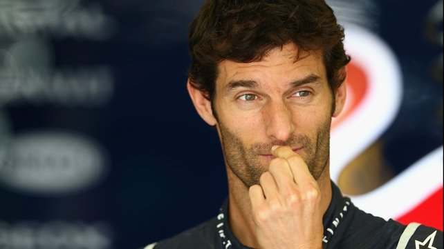 Mark Webber is to leave Formula One, he confirmed