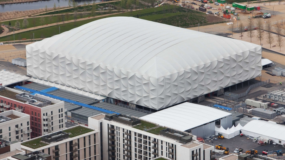 The Basketball Arena is an impressive structure