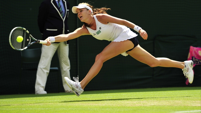 Agnieszka Radwanska is the first Polish player to reach a Wimbledon final since Jadwiga Jedrzejowska in 1937