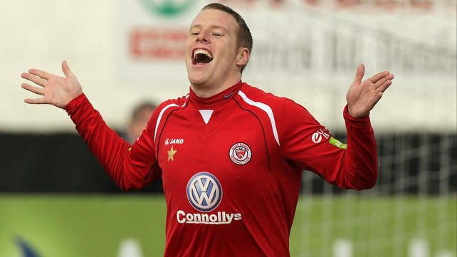 Danny North is in the Sligo squad for today's home clash with Bohemians