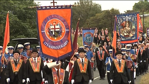 500 Orangemen had applied to march past the Ardoyne area this Saturday