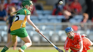In the camogie championship Cork beat Offaly 4-20 to 1-05