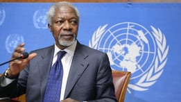 Former United Nations chief Kofi Annan dies aged 80 | RTÉ News Stories