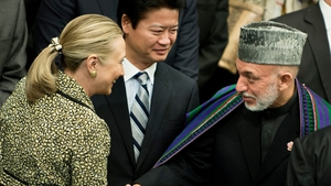 Hamid Karzai said that security remained a major problem in his country