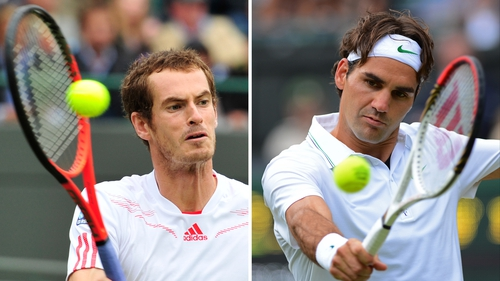 There is a lot on the line for Andy Murray and Roger Federer this afternoon