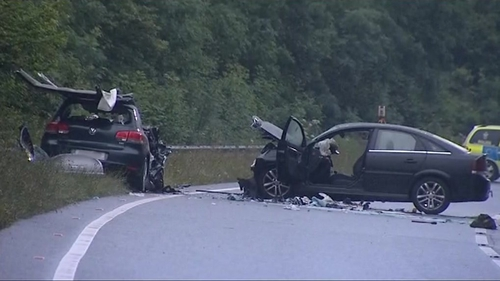 Police have officially named the victims of last Friday's crash (Credit: BBC Spotlight)