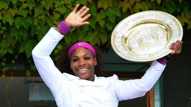 Serena Williams now has 14 grand slam titles to her name