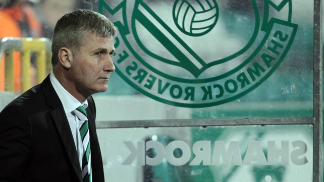 Stephen Kenny lasted less than a year as Shamrock Rovers manager