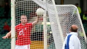 Nicholas Murphy puts the finishing touch to Cork's controversial third goal