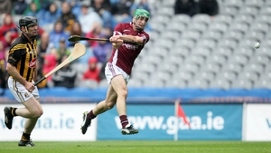 David Burke rifles home Galway's second goal