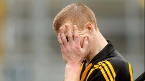 Henry Shefflin struggles to come to terms with a rare Leinster final defeat