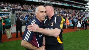 Was Kilkenny manager Brian Cody telling Galway boss Anthony Cunningham 'I'll see you in September'?