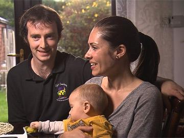 Truckers: Don and Natalyia with baby Killian