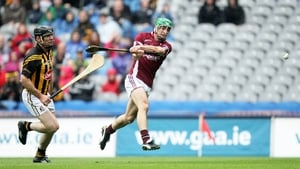 Galway came flying out of the traps and David Burke's goal was one of two times the Kilkenny net was rattled in the first half