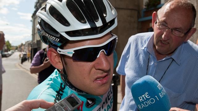 Matt Brammeier will not comepte at the Olympics