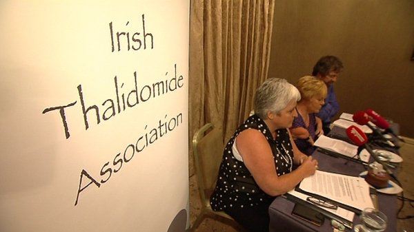 The Irish Thalidomide Association represents 25 Thalidomide survivors