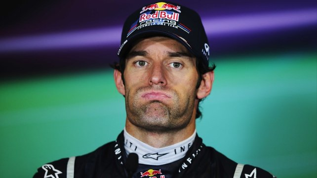 "Mark Webber: ""I'm high on confidence at the moment and firing on all cylinders. I know the team well and I'm very comfortable here."""