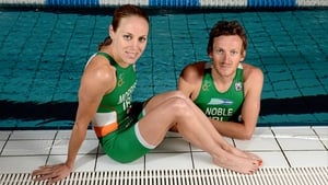 Aileen Morrison and Gavin Noble are in intense training ahead of the London Olympics