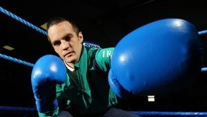 Darren O'Neill captained the Irish boxing team at the London Olympics
