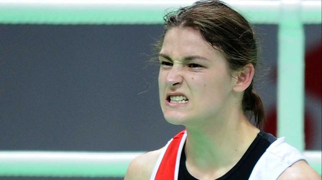 A determined Katie Taylor is preparing meticulously for the upcoming Olympic Games in London