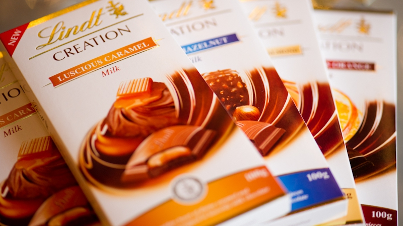 Lindt's new Creations range