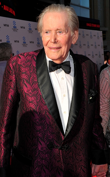 Peter O'Toole passed away, aged 96