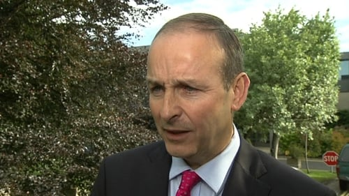 Micheál Martin favours backing the Government on the issue of abortion legislation