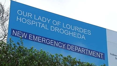 An 80-year-old man was pronounced dead at Our Lady of Lourdes Hospital after he was struck by a truck in Slane