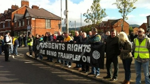 Residents are opposed to the march