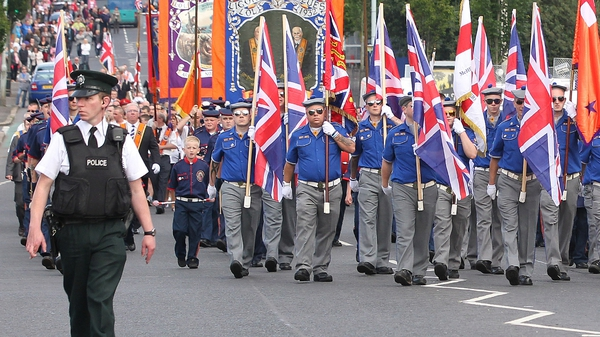 The Parades Commission is due to rule on the Orange Order's request tomorrow